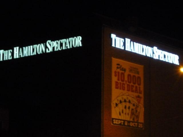 Hamilton Spectator LED Signage